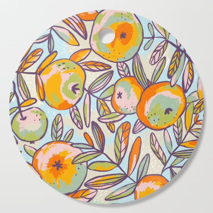 Bright apples Cutting Board