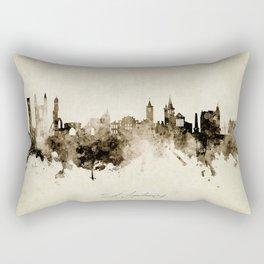 St Andrews Scotland Skyline Rectangular Pillow