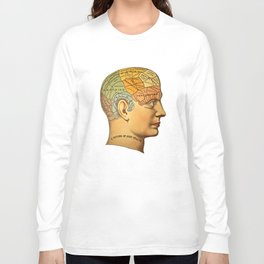 Phrenology | A Picture of Good Health circa 1881 Long Sleeve T-shirt