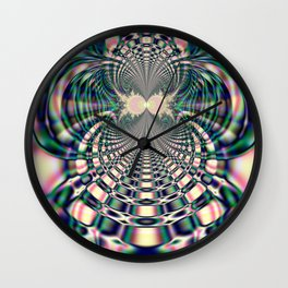 Fractal Abstract 38 Wall Clock