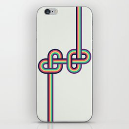 Twists and Knots #2 iPhone Skin
