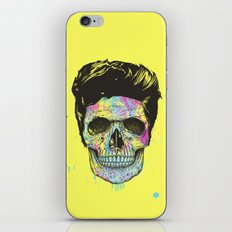 Color your death iPhone & iPod Skin