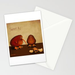 New arrival baby boy - sweet as Stationery Cards