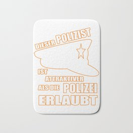 More Attractive Than the Police Allowed Policeman Bath Mat