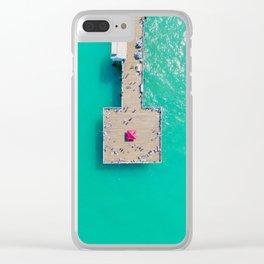 Pier Pressure Clear iPhone Case