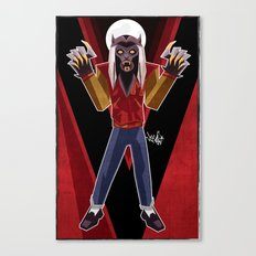 Thriller Time Canvas Print