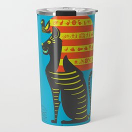 Mike - the Most Famous Cat in London Travel Mug