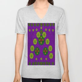Love fantasy Buddha blessings Unisex V-Neck