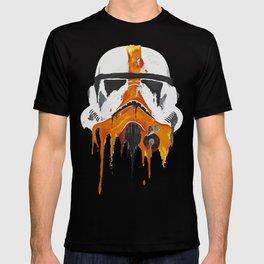 Orange living room 3 T-shirt