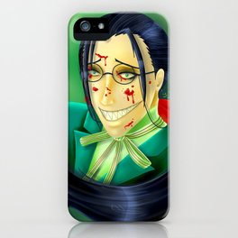 Butler Grell Colour Challenge iPhone Case