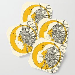 Sun and Moon Coaster