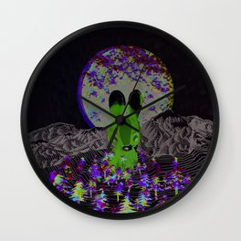 invisible forests Wall Clock
