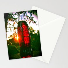 Cola sunset Stationery Cards