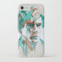 sherlock iPhone & iPod Cases featuring Sherlock by Dan Olivier-Argyle