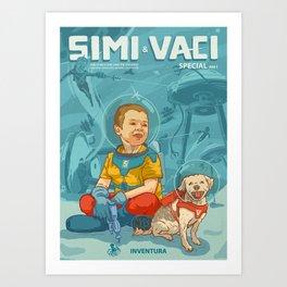 Simi & Vaci Art Print