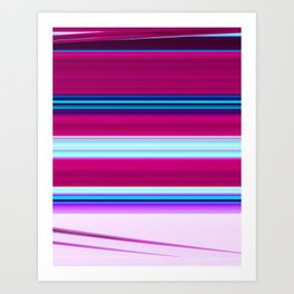 Stripes 37 Art Print