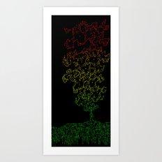 Rising 2 Art Print