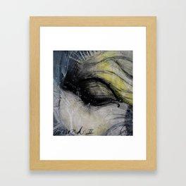 Wound I Framed Art Print