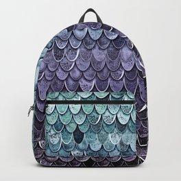 MAGIC MERMAID - MYSTIC TEAL-PURPLE Backpack