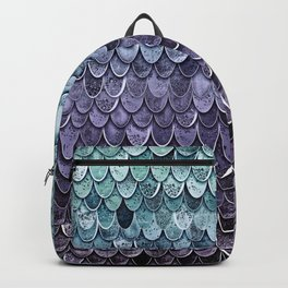 MAGIC MERMAID - MYSTIC TEAL-PURPLE Backpack