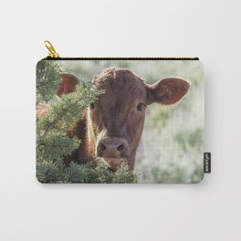 Shy Calf Carry-All Pouch