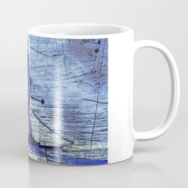Sundown Skier Coffee Mug