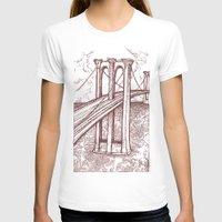 bridge T-shirts featuring Bridge by Howard Coale