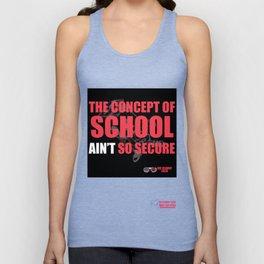 School Ain't Secure Unisex Tank Top