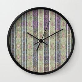 Wallpaper Inspirations - Sparkling Greens Wall Clock