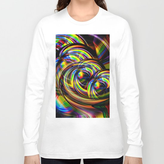 Abstract Perfection 53 Long Sleeve T-shirt