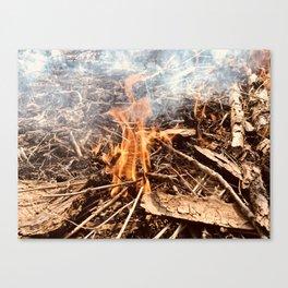 Little Burner Canvas Print