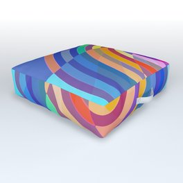 Visualize the Colors Outdoor Floor Cushion