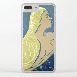 Mermaid / Venus Clear iPhone Case