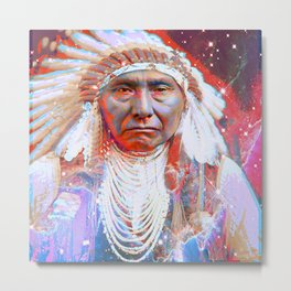 Crazy Horse Metal Print