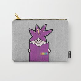 Reading Rainbow in Harmony - Purple Carry-All Pouch