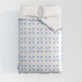 Symmetric patterns 184 blue Comforters