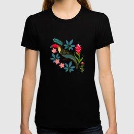 Floral Toucan T-shirt