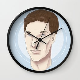 Benedict Cumberbatch Sketch Wall Clock