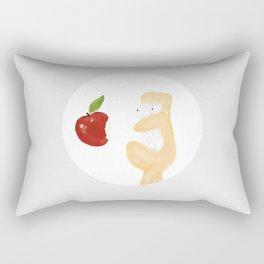 iLove Apple Rectangular Pillow