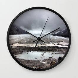 Glacial Pace Wall Clock