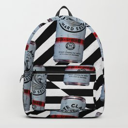 striped drink up Backpack