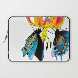 Butterflies & Lily Laptop Sleeve