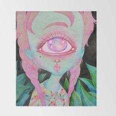Postcard from Venus Throw Blanket