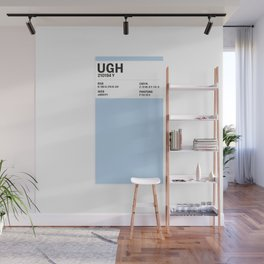 Ugh - Colour Card Wall Mural