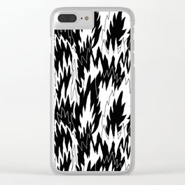 Burnout Friday Clear iPhone Case