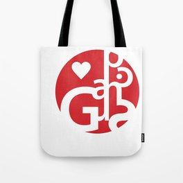Love Graphics Tote Bag