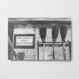INN Guest Only Metal Print