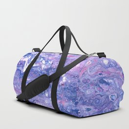 Purple Planet Duffle Bag