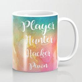 Warcross - Player Hunter Hacker Pawn Coffee Mug