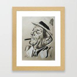 Compay Segundo Framed Art Print